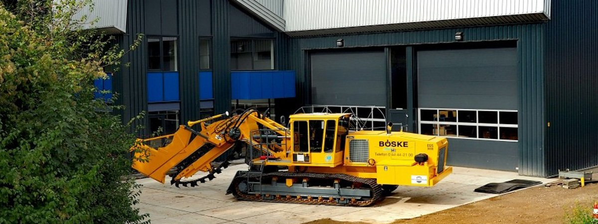Drainage- and trenching equipment - Hollanddrain